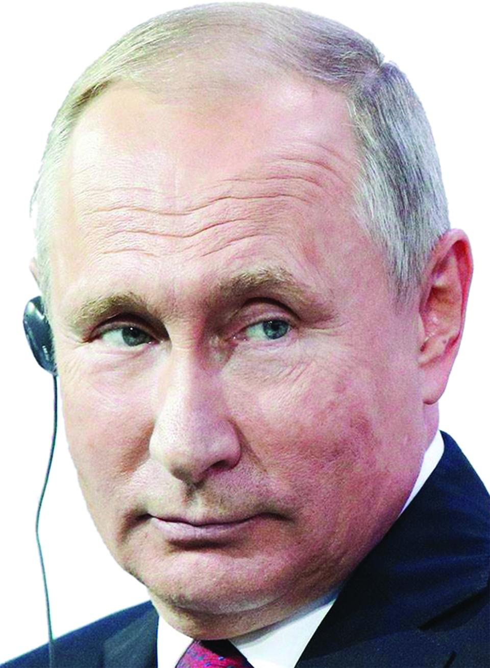 Putin's declining popularity