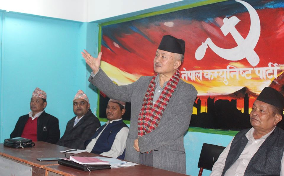 Encroachment of Nepali land unacceptable: Leader Nembang