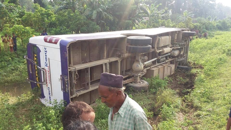 Two killed in Tikapur bus mishap