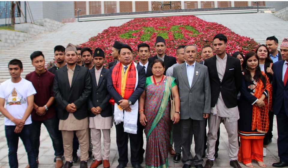 Vice President urges Nepali students in China to make country proud