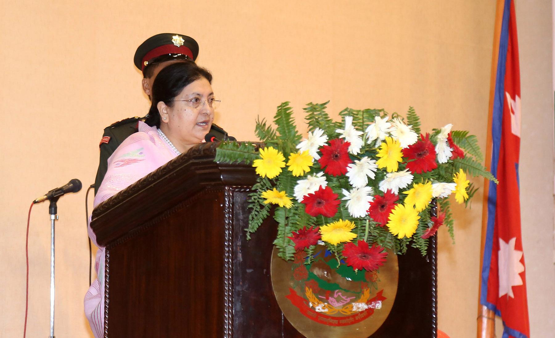 Prez Bhandari breaks her silence on Nirmala's rape