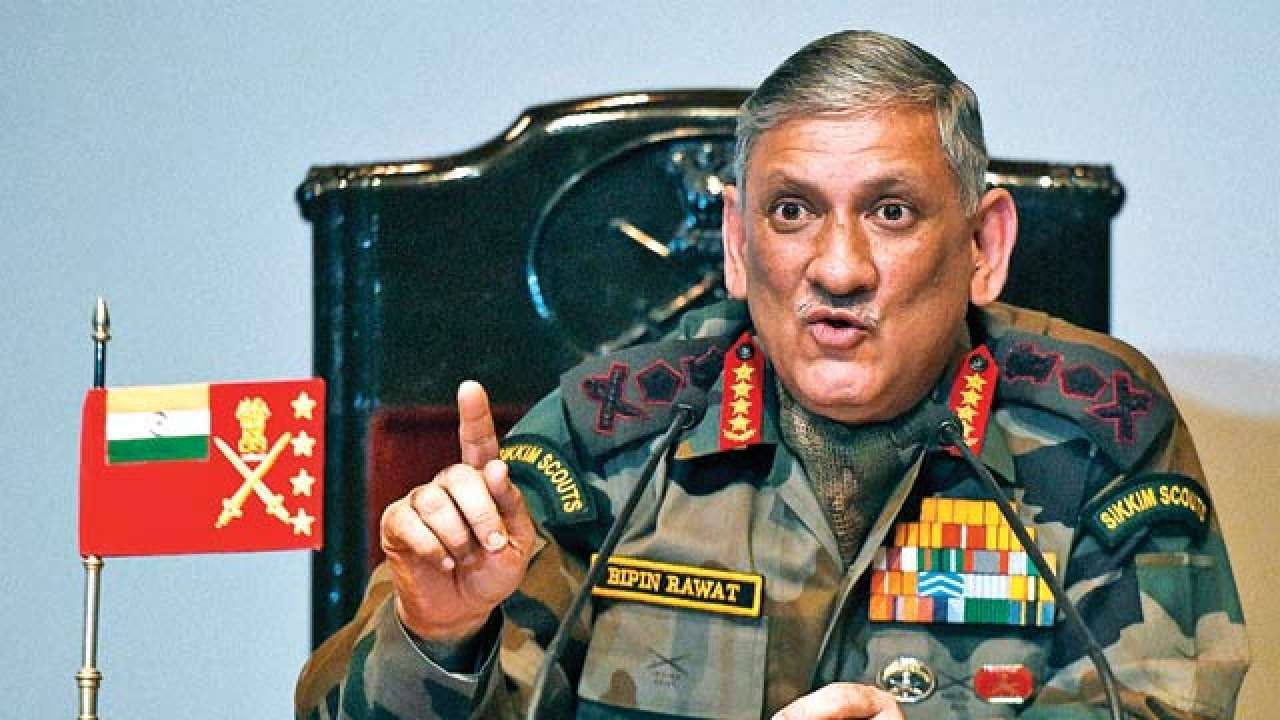 Nepal & Bhutan can't delink from India due to geography: General Bipin Rawat