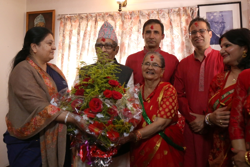 In pics: Rastrakavi Ghimire too young to be 100!