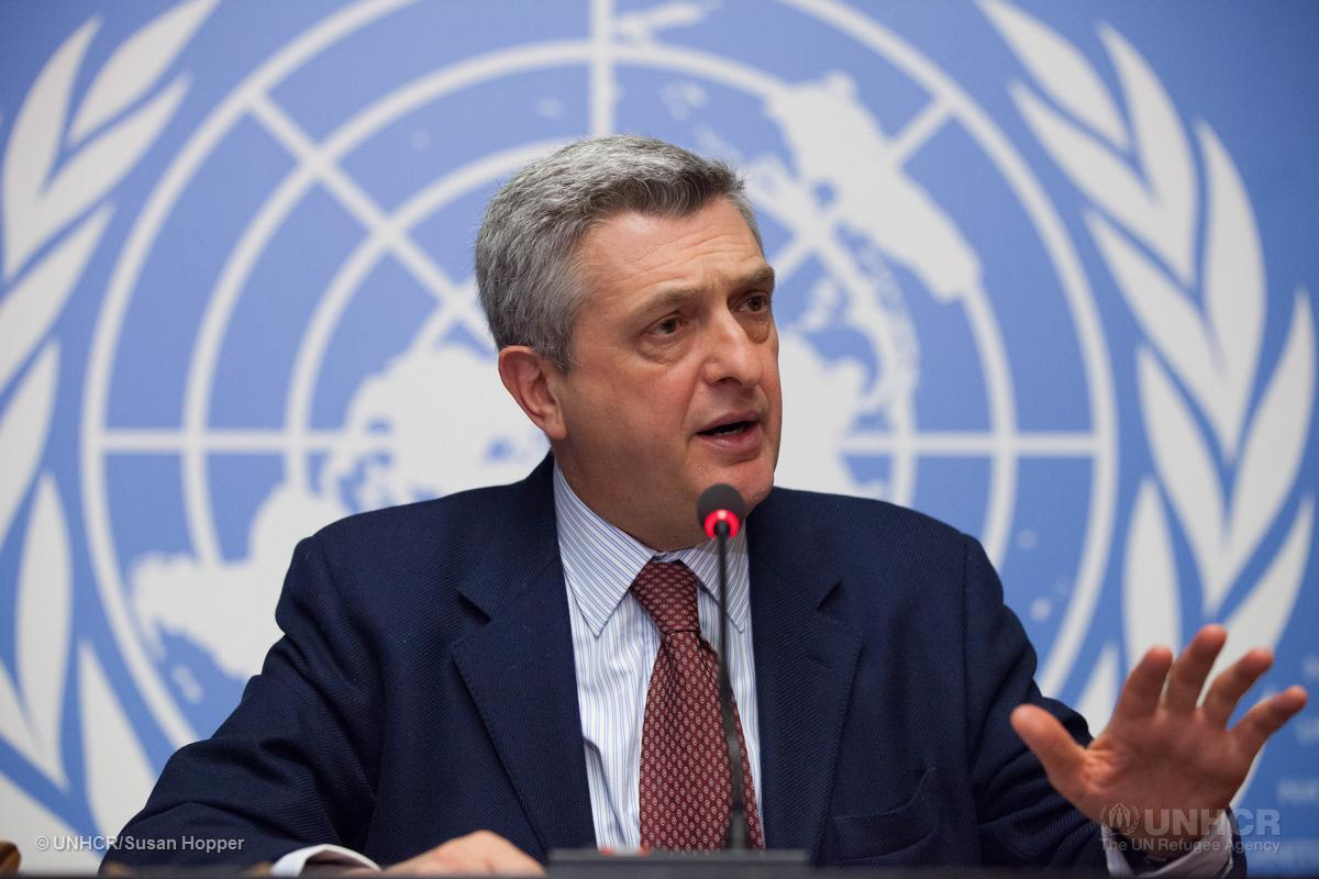 UNHCR chief hails Pakistan for hosting millions of Afghan refugees