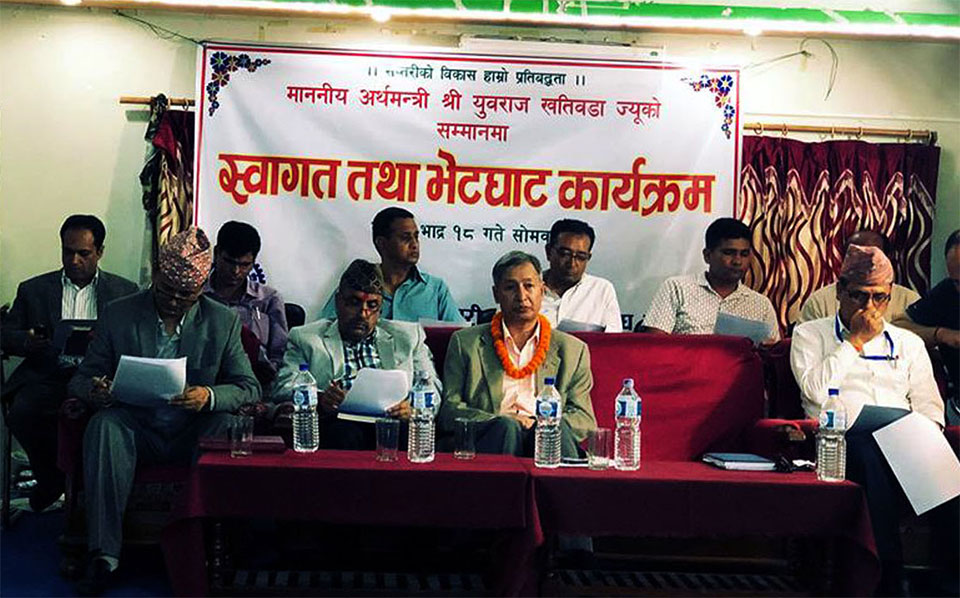 Taxation in all areas will be narrowed down: Minister Dr Khatiwada