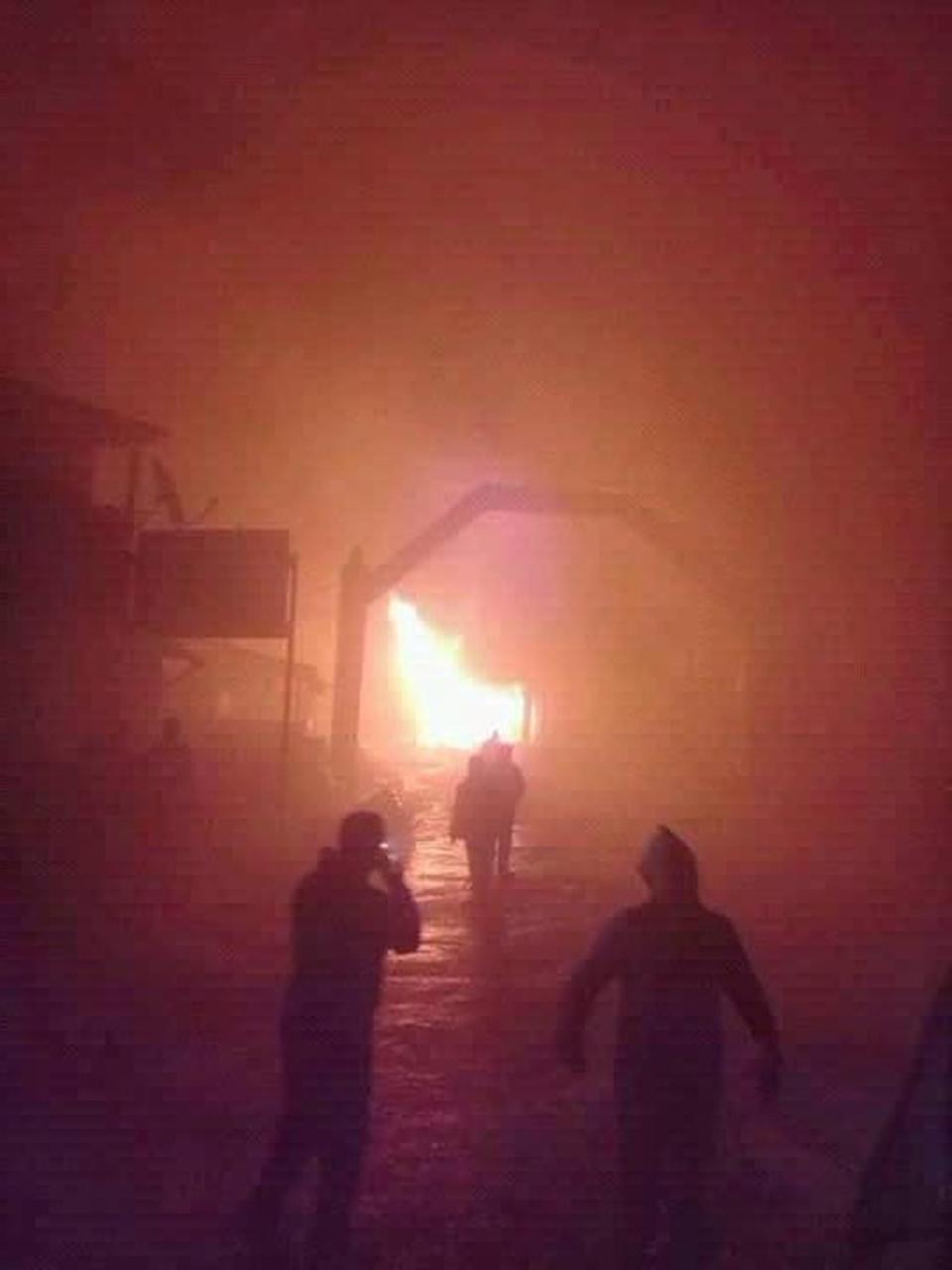 Fire breaks out in Ilam