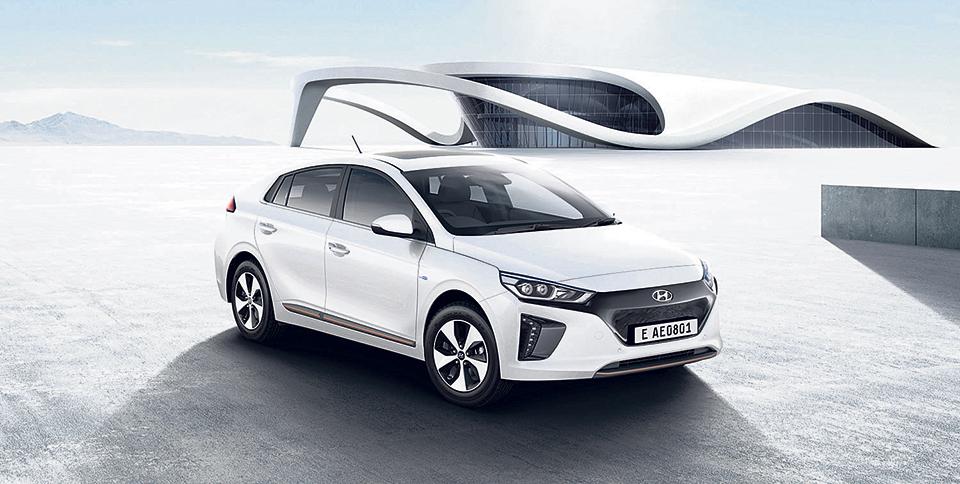 Hyundai launches electric car
