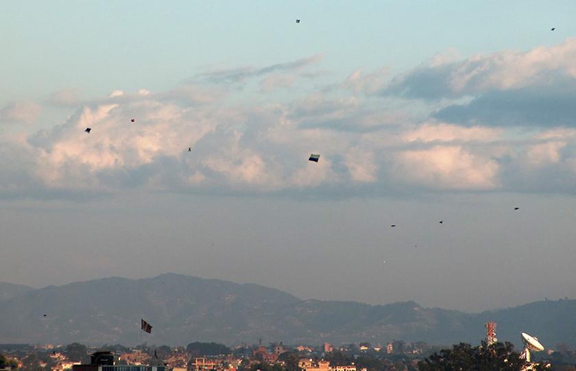 CAAN bans flying kites near airport premises