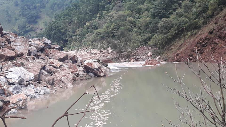 Baglung-Burtibang-Butwal road to be be obstructed for a week