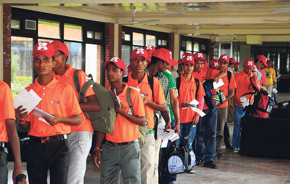 Malaysian employers to bear all costs of Nepali migrant workers