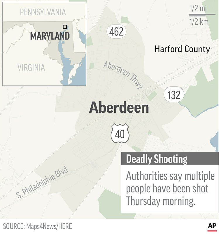 Sheriff: Motive unclear for Maryland shooter who killed 3