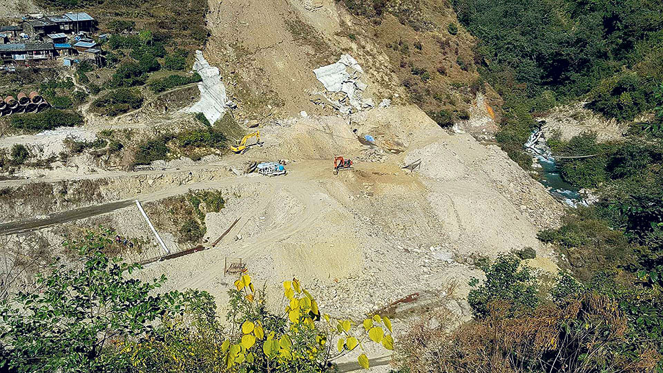 Upper Sanjen achieves 68 percent work progress