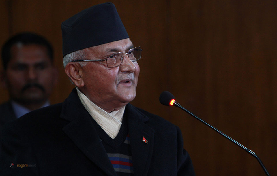 PM Oli talks about global terrorism, climate change and foreign policy in UN General Assembly