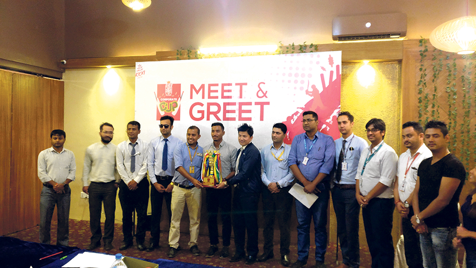 Kathmandu Kings XI Corporate Cup from Monday; Sompal Kami felicitated