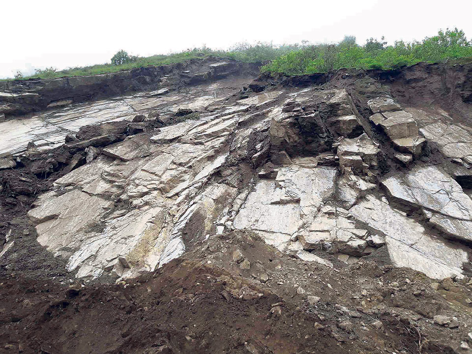 Historical Tuwachung Jayajum site at risk of landslides