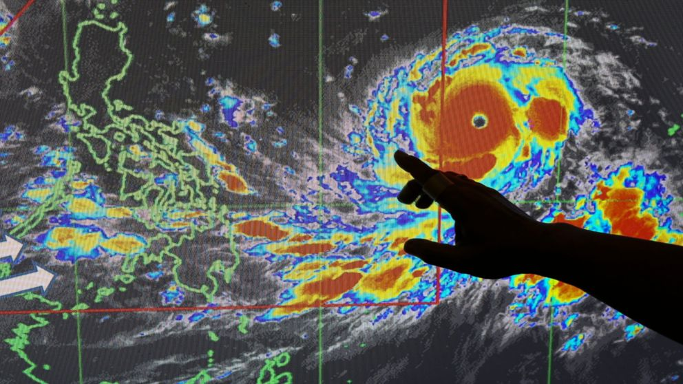 Evacuation underway as huge typhoon nears Philippines, China