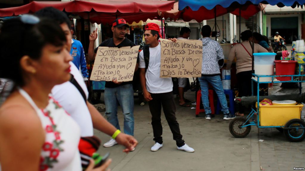 Venezuelan leaders say migration flows are 'normal'