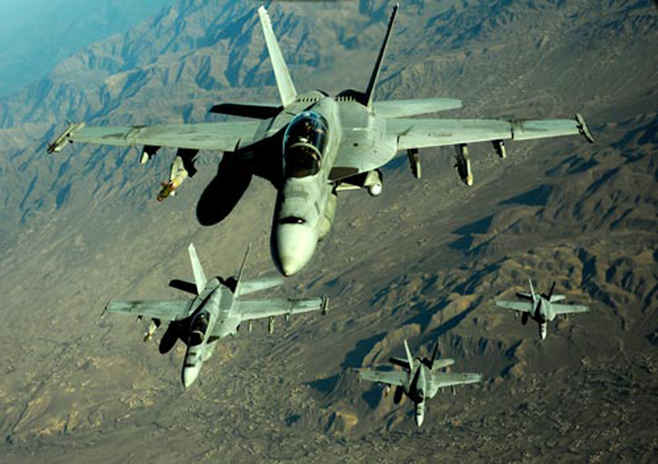 25 militants killed in airstrikes near Kabul