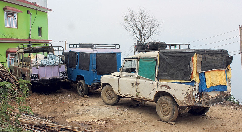 My Republica - Ban on old vehicles hits eastern hill districts