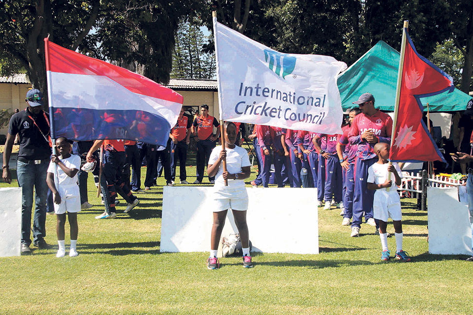 Batting collapse as Nepal succumbs to seventh-place playoff defeat against Netherlands