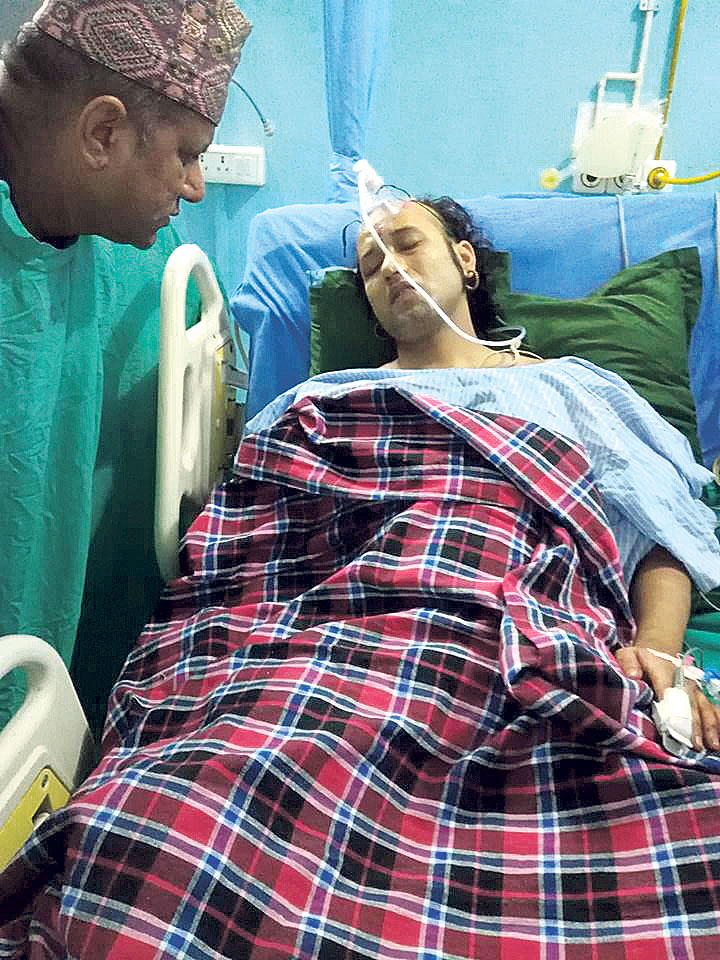 Campaigner for Hindu nation shot, injured