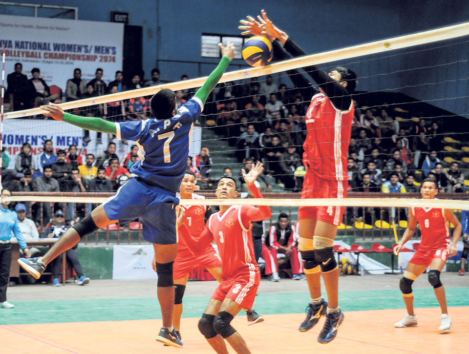 Help Nepal and Tribhuvan Army to vie for men's volleyball title