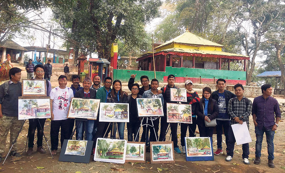 Holi brings together artists from Pokhara, Dharan
