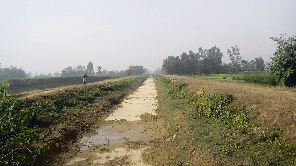 Land compensation dispute mars Babai Irrigation Project