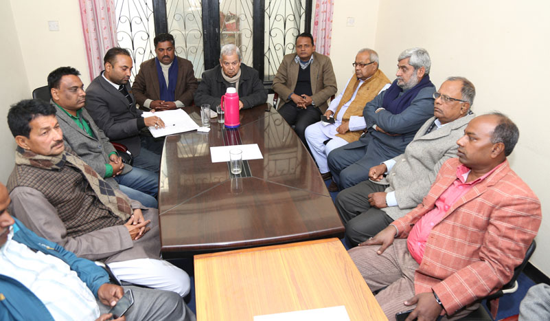 Meeting between PM Dahal and Madhes-based parties kicks off in Capital