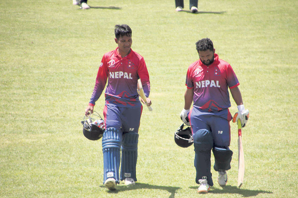 Nepal's Super Six chances slim after disappointing loss to Scotland