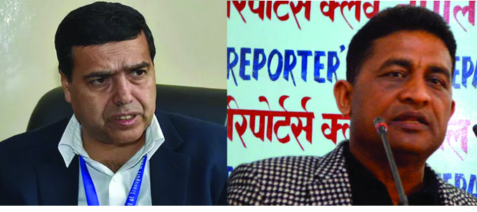 Anti-syndicate crusader DG Bhattarai transferred in cahoots with transport entrepreneurs