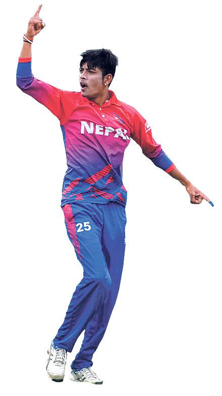 Nepali spinner Sandeep Lamichhane debut in IPL today