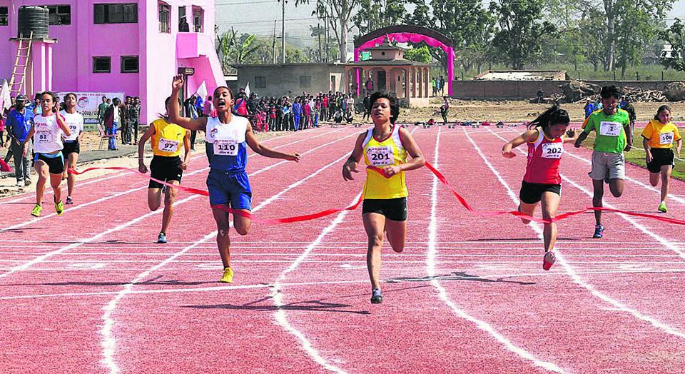 Chandrakala improves her own national record