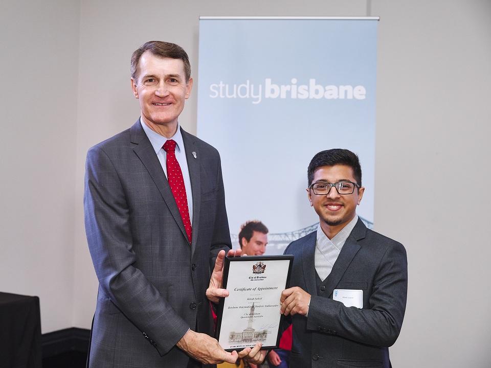 My City - Nepali student becomes Brisbane International