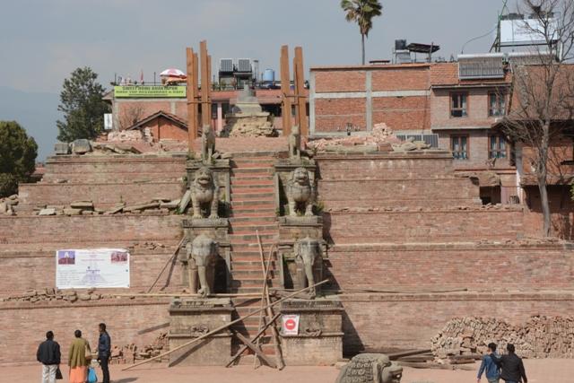 Bhaktapur's historical heritage sites stand tall