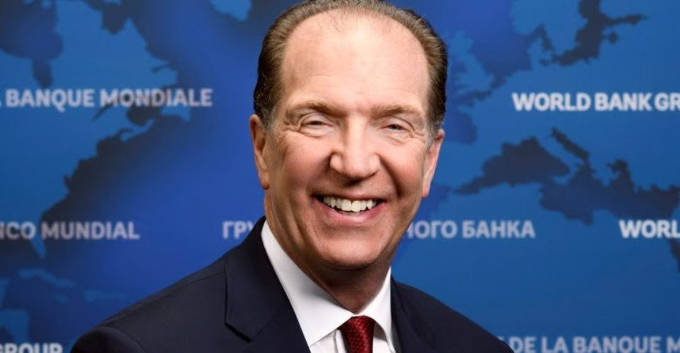 Former US official David R. Malpass named World Bank President