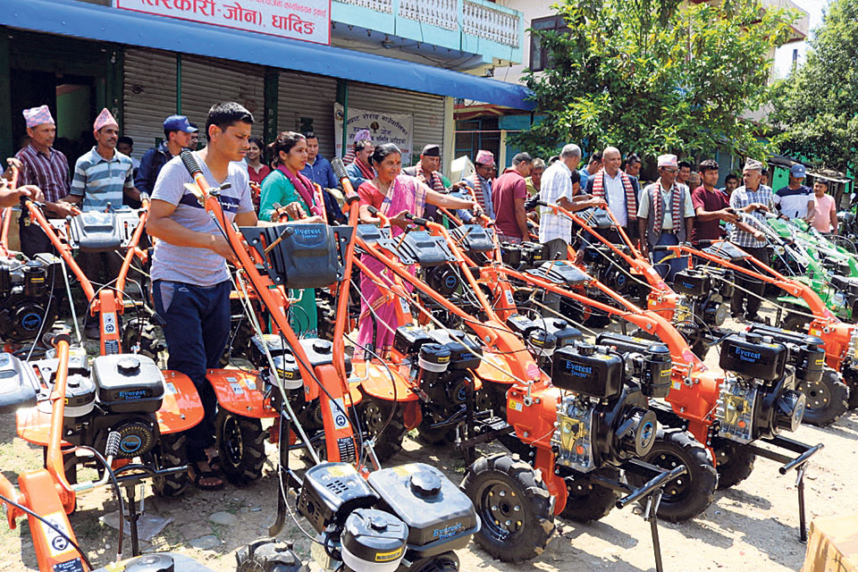 Farmers of Dhading embracing new technology