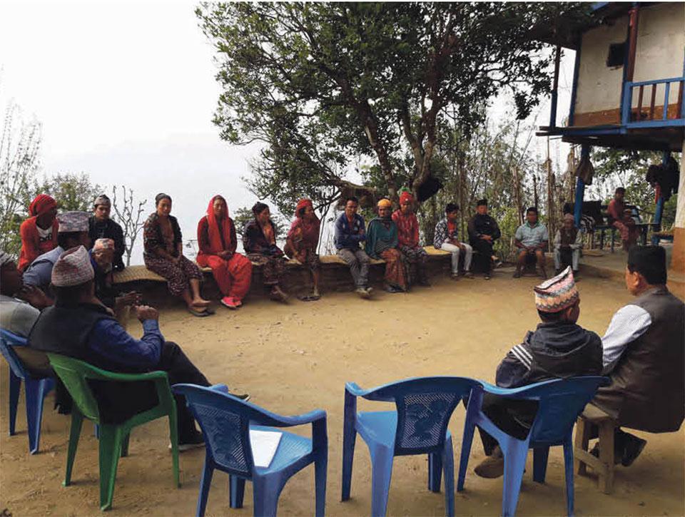 Door-to-door campaign in Khotang students' admission