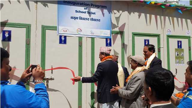 GUTHI instrumental in constructing well-facilitated public toilets