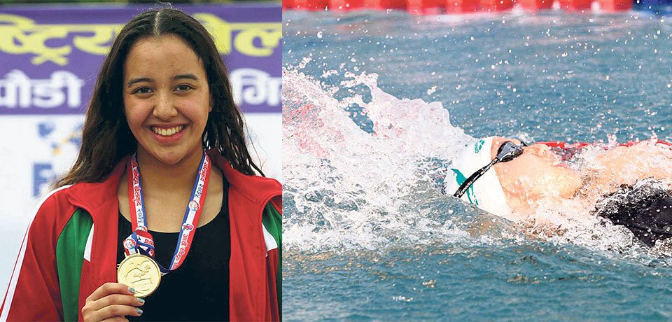 Gaurika, Subham, Tenzing set new national records in swimming