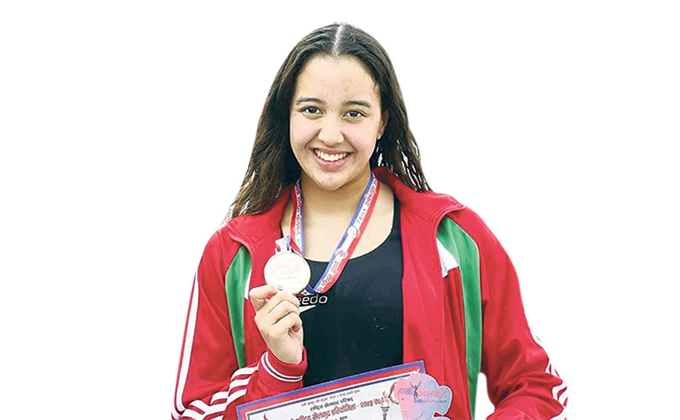 Gaurika sets another nat'l record, wins three golds