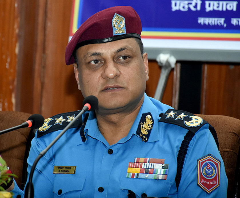 Sufficient evidence could not be collected in Bomjan case: IGP Khanal