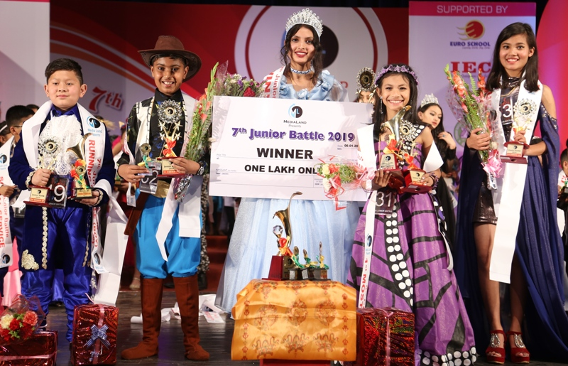 Anu Bhandari wins 7th Junior Battle 2019