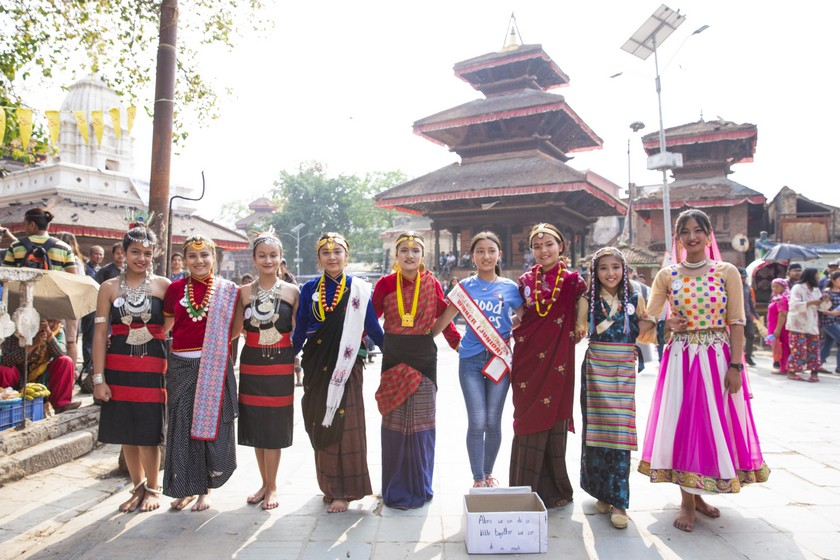 'Miss Little Heritage' in cultural parade