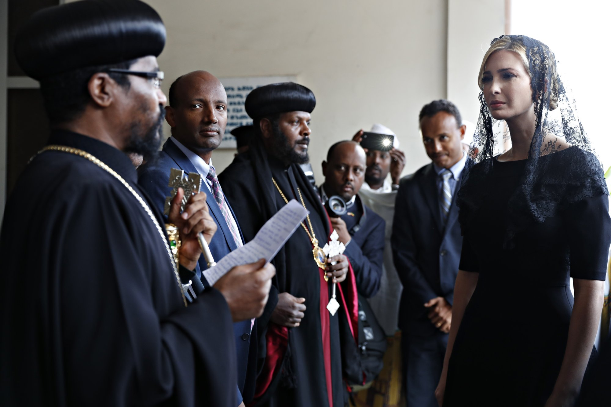 Ivanka Trump honors victims of Ethiopian air crash