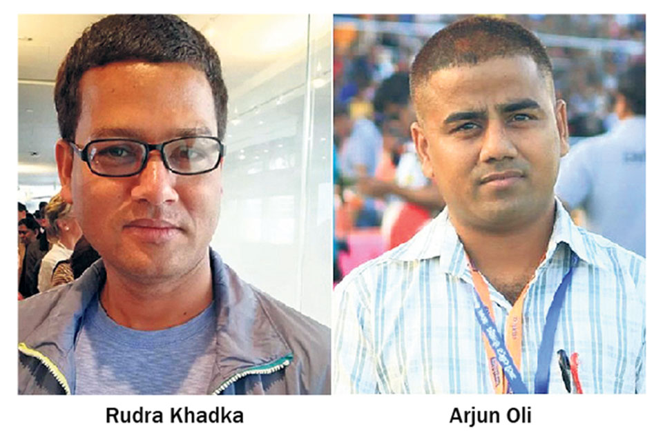 Khadka, Oli bag Barbara Adams Investigative Journalism Award