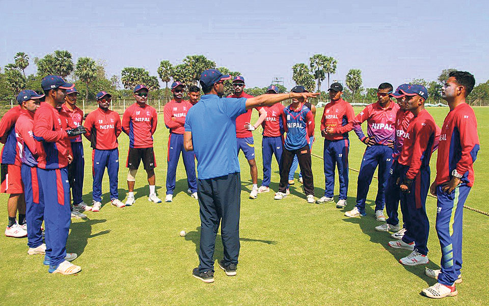 Paudel to lead 14-member squad for U-19 world cup qualifiers