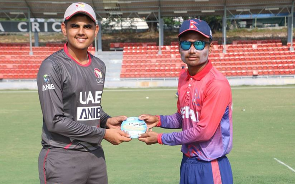 Nepal lost to UAE by single run