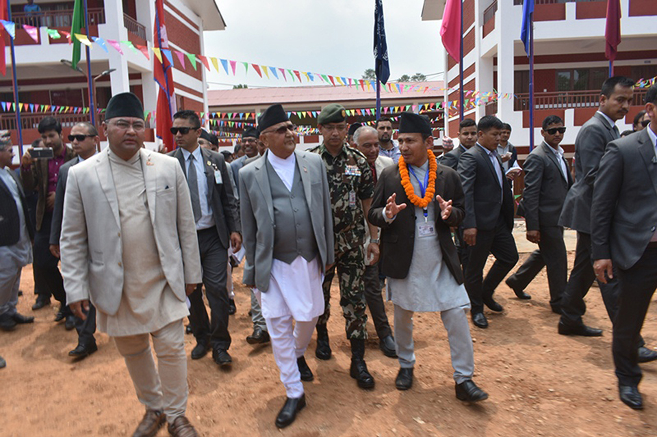 Govt to produce globally competitive human resource: PM Oli