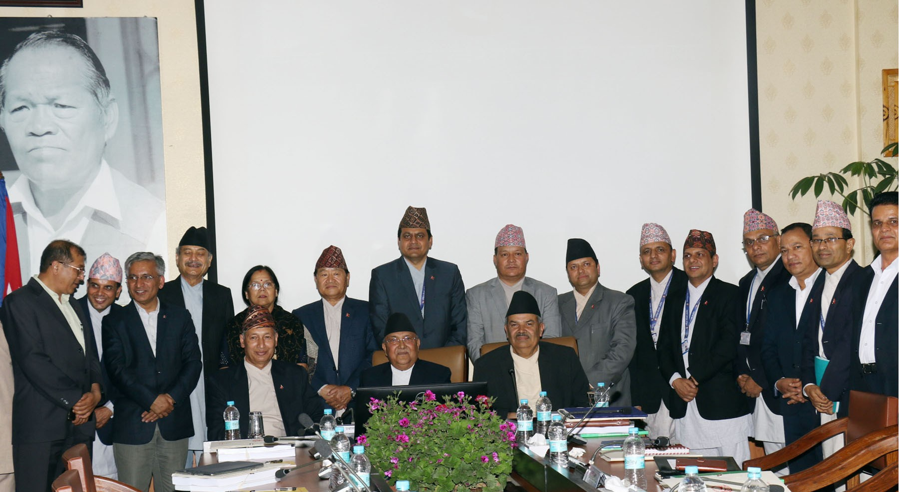 PM Oli promises hunger-free society with an end to beggary from country